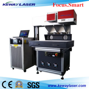 CO2 3D Dynamaic Focus Galvo Laser Marking Machine for Leather/Wood/Paper pictures & photos