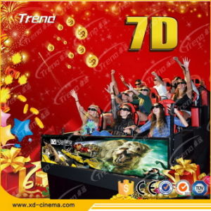 Interactive Design Attractive 7D 9d Mobile Cinema pictures & photos