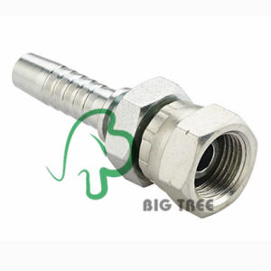 Bsp Female 60 Degree Cone Double Hexagon Hose Fitting pictures & photos