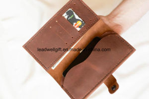 Leather Travel Wallet Gift Phone Wallet Valentines Day Gift pictures & photos