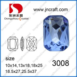 Point Back Octagon Crystal Bead for Wedding Dress pictures & photos