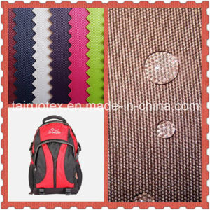 PU Coated Polyester Oxford with Waterproof for Bags of Fabric pictures & photos