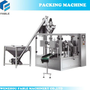 Automatic Zipper Pouch Packing Machine for Beans pictures & photos