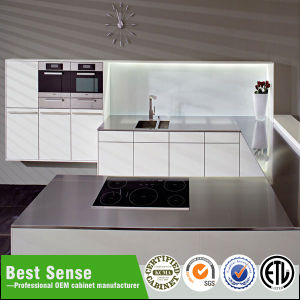 Customized Cabinet Project OEM Modular Stainless Steel Lacquer Kitchen pictures & photos
