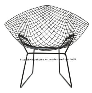 Replica Modern Dining Restaurant Knock Down Steel Wire Diamond Chair pictures & photos