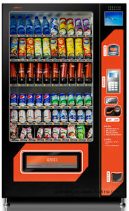 Snack & Drink Vending Machine with Refrigeration Unit for Philippines Market pictures & photos