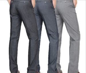 Hot Sale Straight Iron-Free Casual Long Business Pants for Men pictures & photos