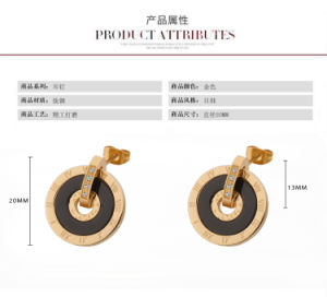 High Quality Fashion Jewelry Stainless Steel Earrings (hdx1038) pictures & photos