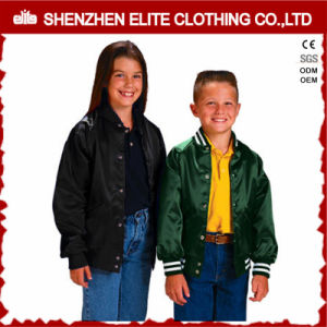 Custom Design Kids Satin Jacket for Children pictures & photos