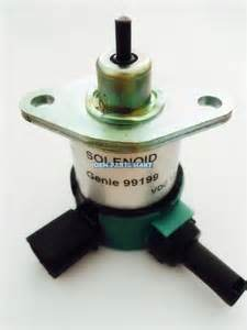 New Genie Kubota Shutdown Solenoid (Genie: 99199) pictures & photos