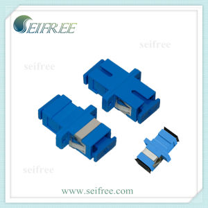 Sc Single Mode Fiber Optic Cable Connector Adapter pictures & photos