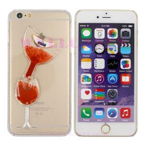 Oil Dripping Tilt Wine Glass Flowing Liquid Phone Case