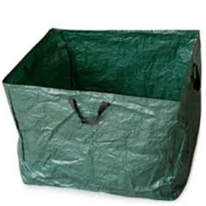 PE Woven Garden Leaves Foldable Bag pictures & photos