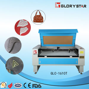 Double Cutting Heads Shoes Laser Cutter Machine pictures & photos