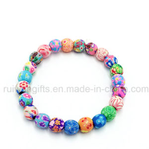 Fashion Jewelry Bracelet with 8mm Clay Beads pictures & photos