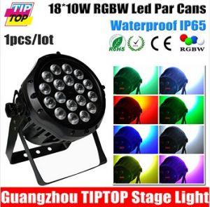 18*10W RGBW 4in1 LED PAR 64 Light Waterproof