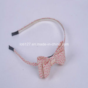 Beige Background, Pink DOT Dotted Around, Fashion Hair Accessories, Fashion Tiaras, Head Hoop pictures & photos