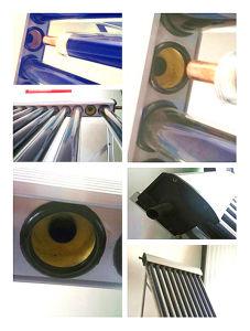 Vacuum Tube Heatpipe Anti-Freeze Solar Hot Water Heater pictures & photos