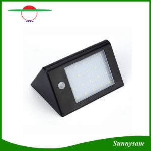 20 LED Solar Panel Sensor Light Outdoor Waterproof IP65 Fence Wall Garden Lamp pictures & photos