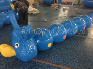 Funny Inflatable Floating PVC Tarpaulin Water Caterpillar for Water Games pictures & photos