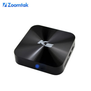 Zoomtak K5 Quad Core Kodi 15.2 Android 4.4 TV Box pictures & photos