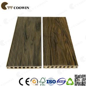 High Strength Hollow Outdoor Deep Wood Grain 3D Grey Flooring pictures & photos