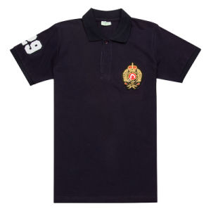 Wholesale Men′s Custom Polo Shirts with Embroidery Patch (PS044W) pictures & photos