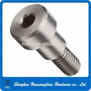 Stainless Steel 304 Hex Socket Shoulder Screw with Third Thread pictures & photos
