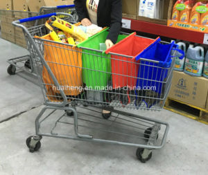Shopping Trolley Bag for Supermarket Shopping Cart Bag pictures & photos