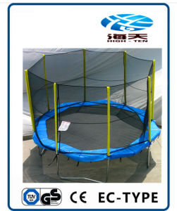 Octagonal 10ft Trampolines with Enclosure pictures & photos