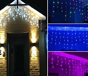 Multi-Color LED Icicle Curtain Wedding Christmas Decoration pictures & photos