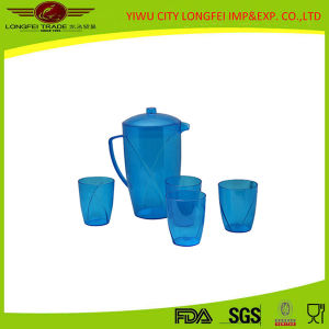 Character Useful Plasric Jug Set One Jug Four Cup pictures & photos