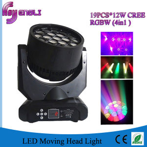 Professional 19PCS*10W LED Moving Head Lighting for Stage Disco pictures & photos