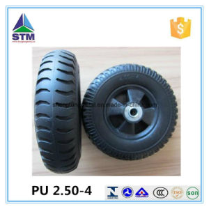 2.50-4 PU Form Wheel Industry Wheel PU Caster Wheel pictures & photos