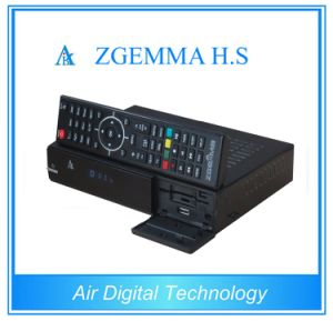 High CPU DVB-S2 One Tuner Zgemma H. S HDTV Satellite Receiver with Full Channels Media Player pictures & photos