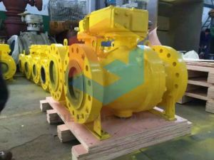 2PC Casting Trunnion Ball Valve pictures & photos
