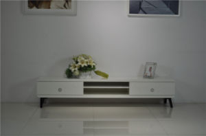 TV Stand MDF with Veneer Legs (DS-2022) pictures & photos
