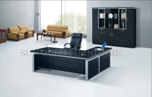 Elegant Design Office Table Qualified Cost Effective Executive Office Desk (SZ-OD309) pictures & photos