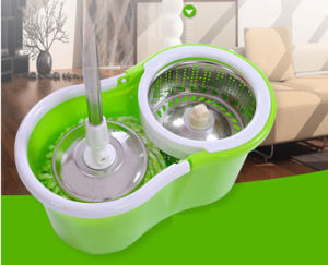 Double Drive Function Spin Mop pictures & photos