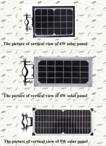 9W All in One Solar Street Light LED Garden Light pictures & photos