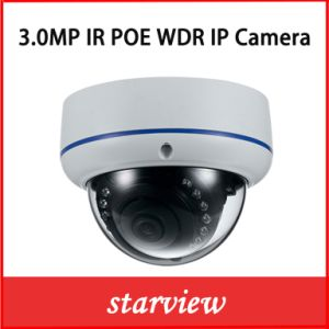 3.0MP Dome Vandal-Proof Security CCTV Mini IP Camera pictures & photos