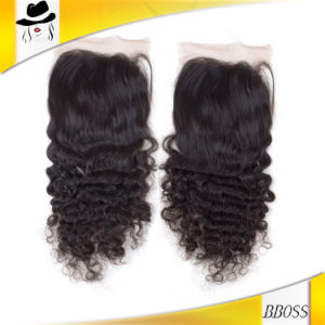 Quality Remy Fashion Short Logo Hair Cut for Curly Hair pictures & photos