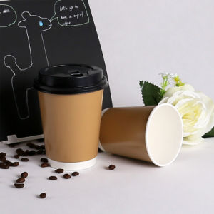 Double Wall Disposable Paper Coffee Cup