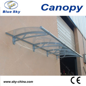 Aluminium Canopy PC Roof Balcony Canopy (B900-3) pictures & photos