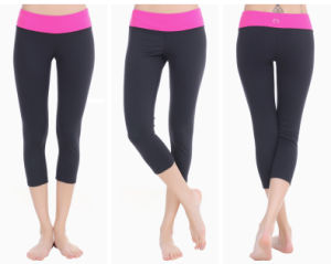 Good Quality Breathable Women Yoga Pants Sport Fitness for Gym pictures & photos