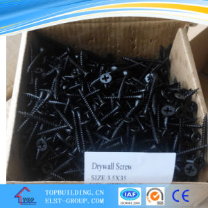 Black Drywall Screw/Self Drilling Tapping Screw/Gypsum Board Screw/Drilling Screw 25*3.5mm pictures & photos