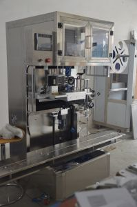 Full Automatic 5 Gallon Bottle Cap Sleeve Labeling Machine pictures & photos