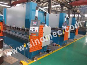 Wc67k-100t/5000 Press Brake Machine / Hydraulic Bending Machine pictures & photos
