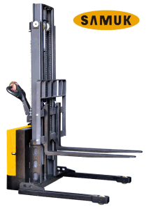 Economic Type Electric Power Stacker 1.0-1.5ton pictures & photos