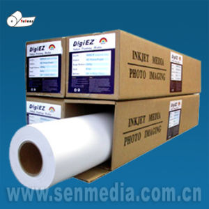SGS Audited Factory Sell 115GSM-260GSM Glossy Inkjet Photo Paper in Rolls pictures & photos